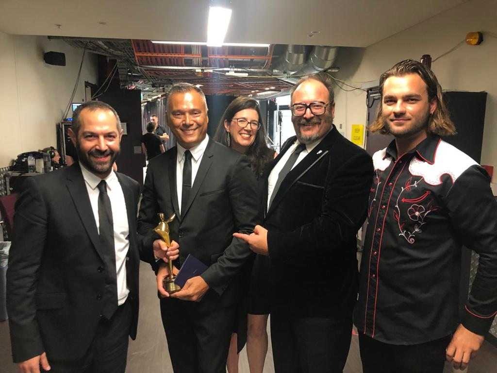 And the AACTA goes to…. THE AUSTRALIAN DREAM